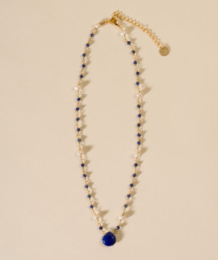 joaparis,joa,lapislazuli,perles,collier,bijou,eshop,paris,parisienne,collierjoa,pierresnaturelles,fabriquéenfrance,faitmain